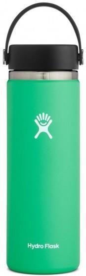 Hydro Flask 20oz Wide Mouth + Flex Cap 2.0 Water Bottle, Spearmint