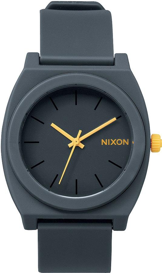 Nixon Time Teller P Analog Wrist Watch Matte Steel Grey