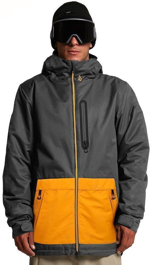Volcom Deadly Stones Ski/Snowboard Jacket, Xl Dark Grey