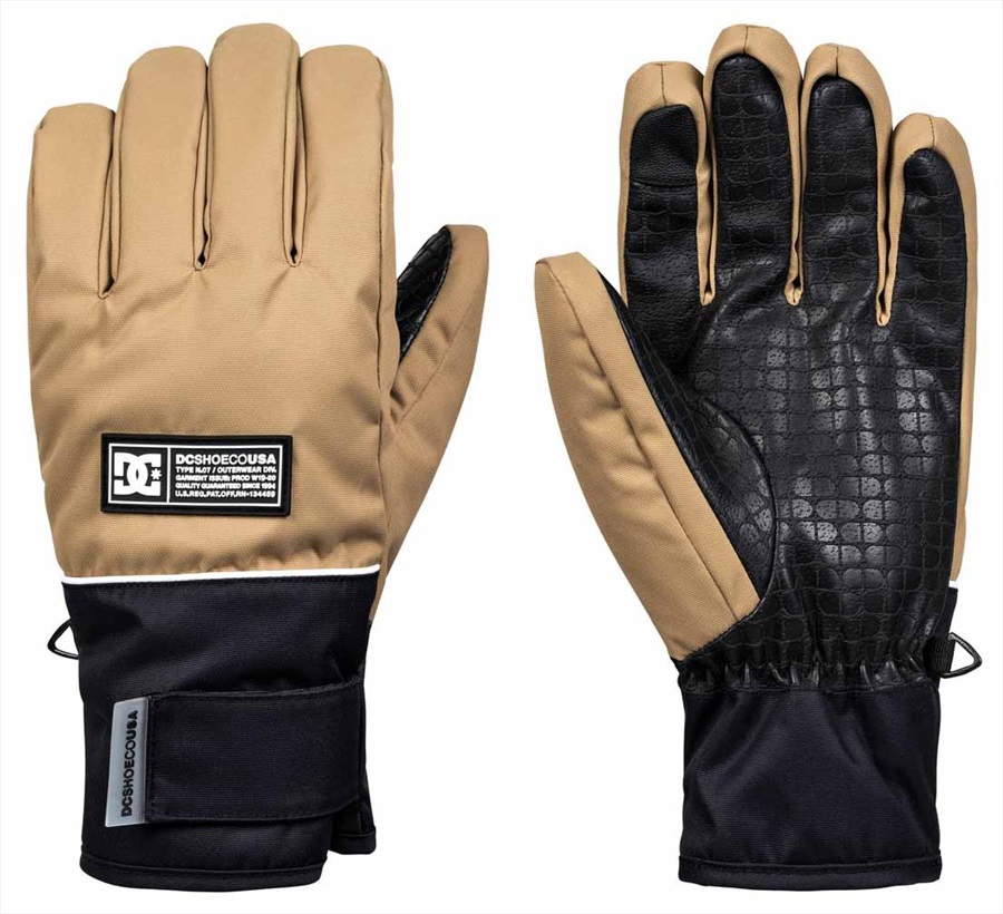 DC Franchise Ski/Snowboard Gloves, M Kelp