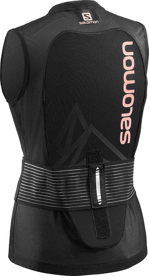 Salomon Womens Flexcell Light Vest W Armour Vest, S Black/Blue