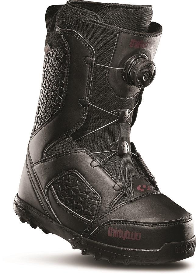 thirtytwo STW Boa Women's Snowboard Boots, UK 4.5 Black 2020