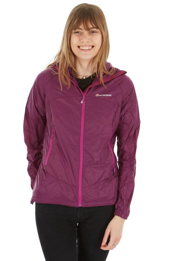 Montane Lite-Speed Women's Windproof Jacket, L Dahlia