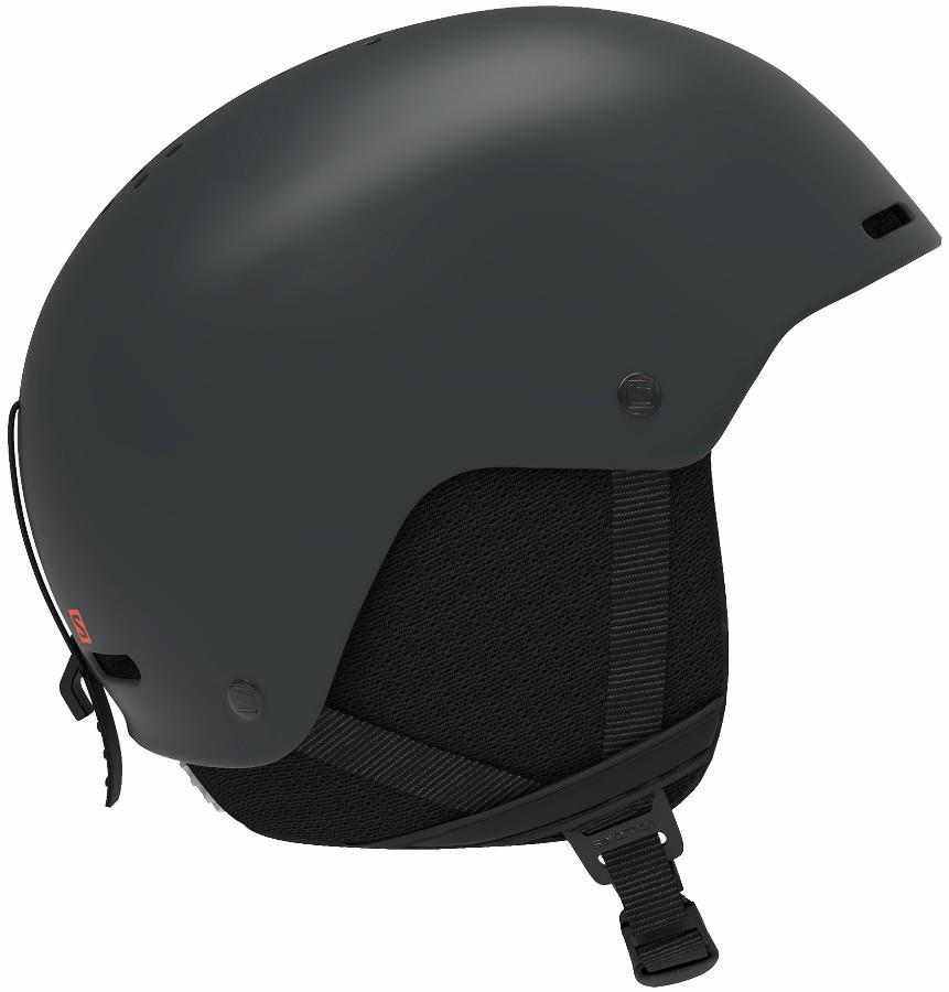 Salomon Brigade+ Snowboard/Ski Helmet, M Ebony