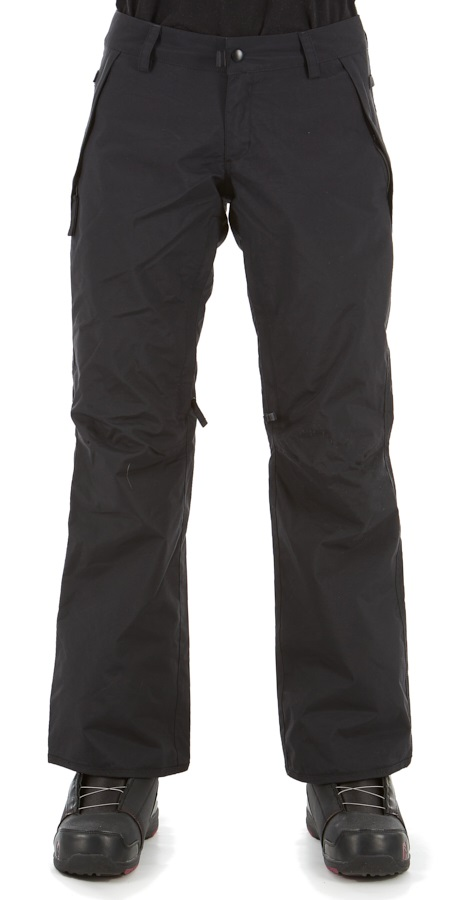 686 Standard Shell Women's Snowboard/Ski Pants, XS Black