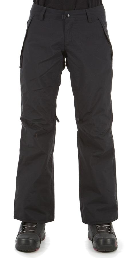 686 Standard Shell Women's Snowboard/Ski Pants, L Black