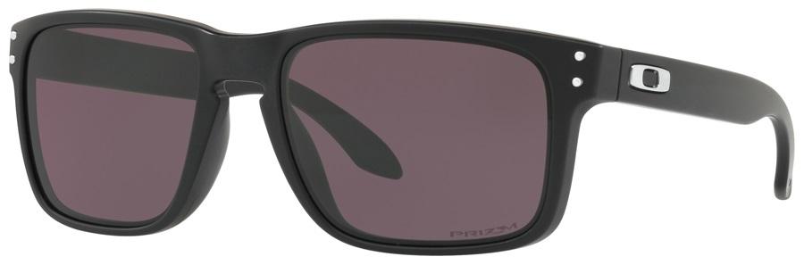Oakley Holbrook Prizm Grey Sunglasses, Matte Black