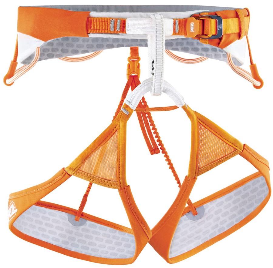 Petzl Sitta Harness Adult Climbing Harness, S Orange