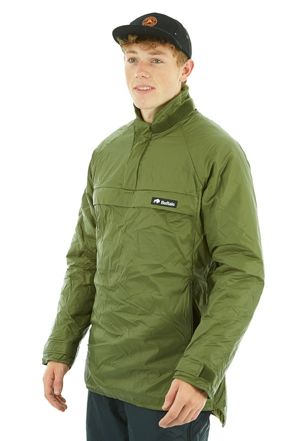 Buffalo Special 6 Shirt Pullover Technical All Weather Jacket, M Olive