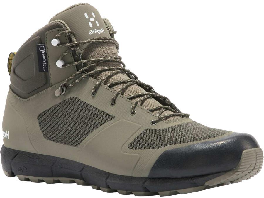 Haglofs Adult Unisex L.I.M Mid Proof Eco Mens Hiking Boots, Uk 7.5 Sage Green