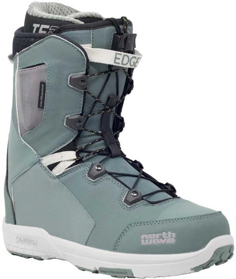Northwave Edge SL Snowboard Boots, UK 11 Green 2020