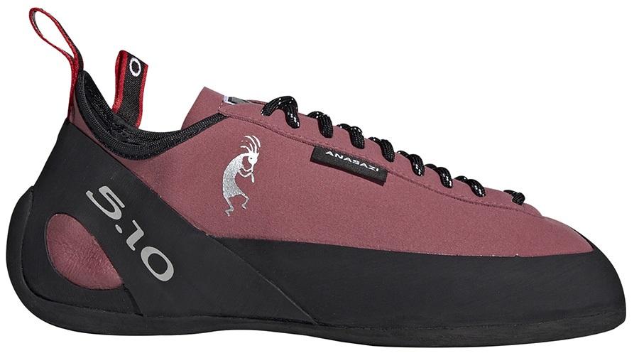 Adidas Five Ten Anasazi Lace Climbing Shoe UK 6 | EU 39.3 Maroon/Black
