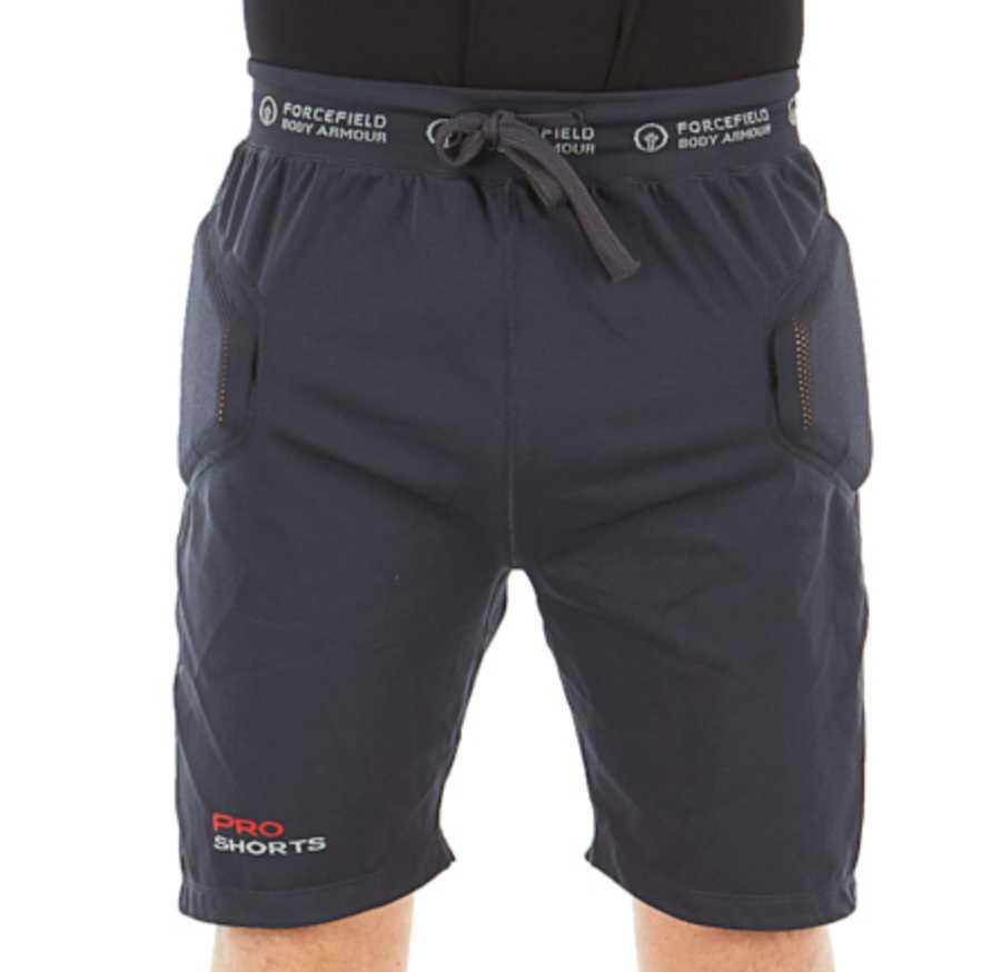 Forcefield Pro X-V 2 Air Motorbike Armour Impact Shorts, L Charcoal