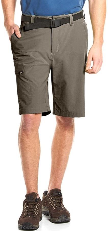 Maier Sports Nil Bermuda Stretch Hiking & Outdoor Shorts, M Teak