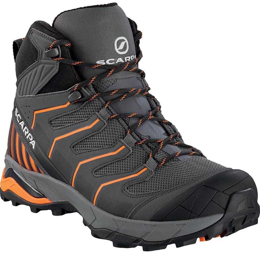 Scarpa Adult Unisex Maverick Gtx Mid Hiking Boots, Uk 11 3/4, Eu 47 Grey/Orange