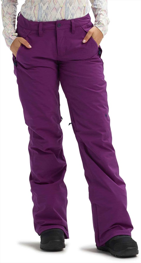 Burton Society Women's Snowboard/Ski Pants, L Charisma Heather