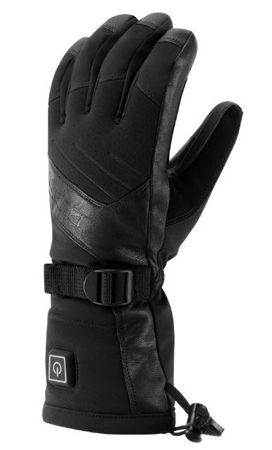 Manbi Steiner Radiator Heated Ski/Snowboard Glove, M Black