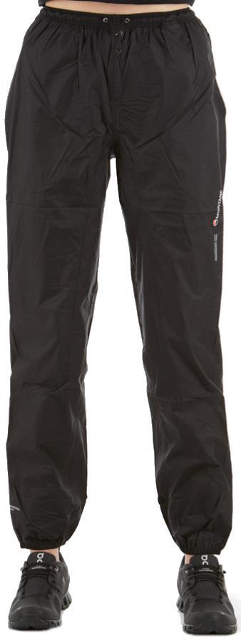 Montane Minimus Women's Waterproof Over Trousers UK 10 Regular