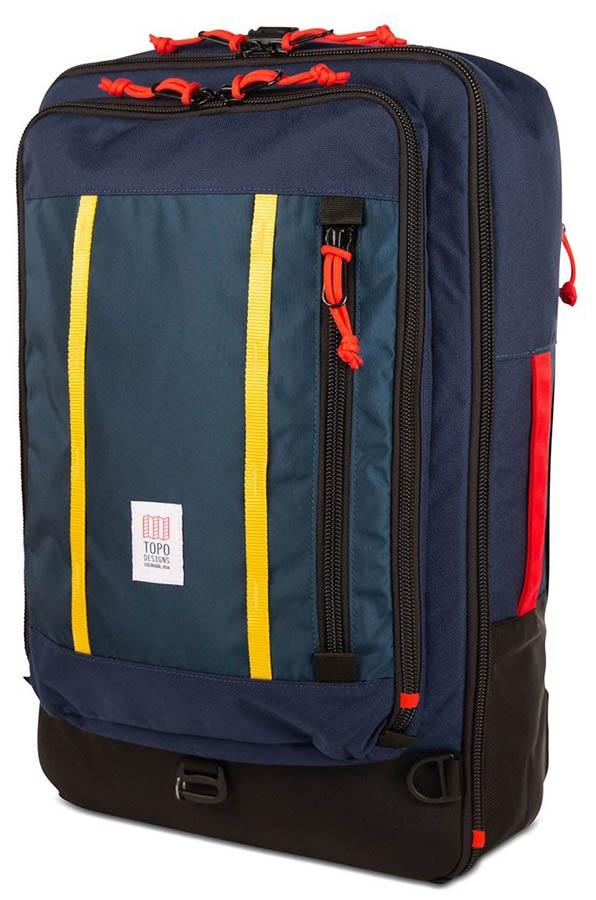 Topo Designs 30L Travel Bag Travel Pack, Navy