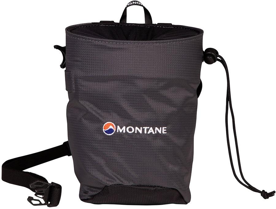 Montane Finger Jam Rock Climbing Chalk Bag, Medium Charcoal