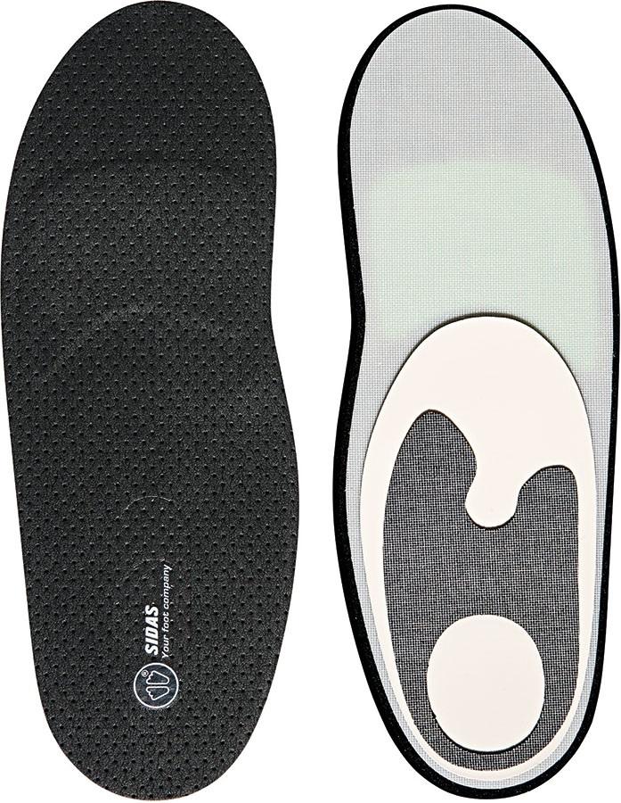 Sidas Winter Custom Comfort Ski Boot Insoles, XS Black