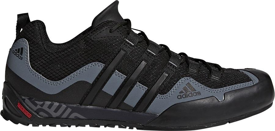 Adidas Terrex Swift Solo Approach/Walking Shoes, UK 9 Black