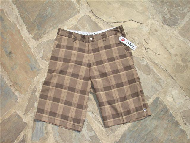 "Liquid Force Freeride Walk Shorts 32"" / 81cm Brown LWSS801BR32"