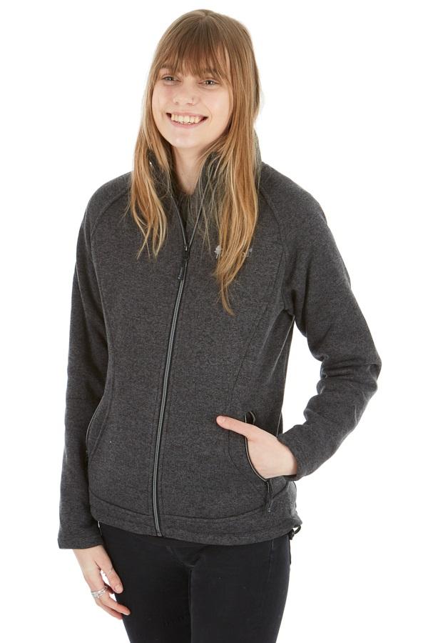 Pinewood Gabriella Women's Water Resistant Fleece, M Dark Grey