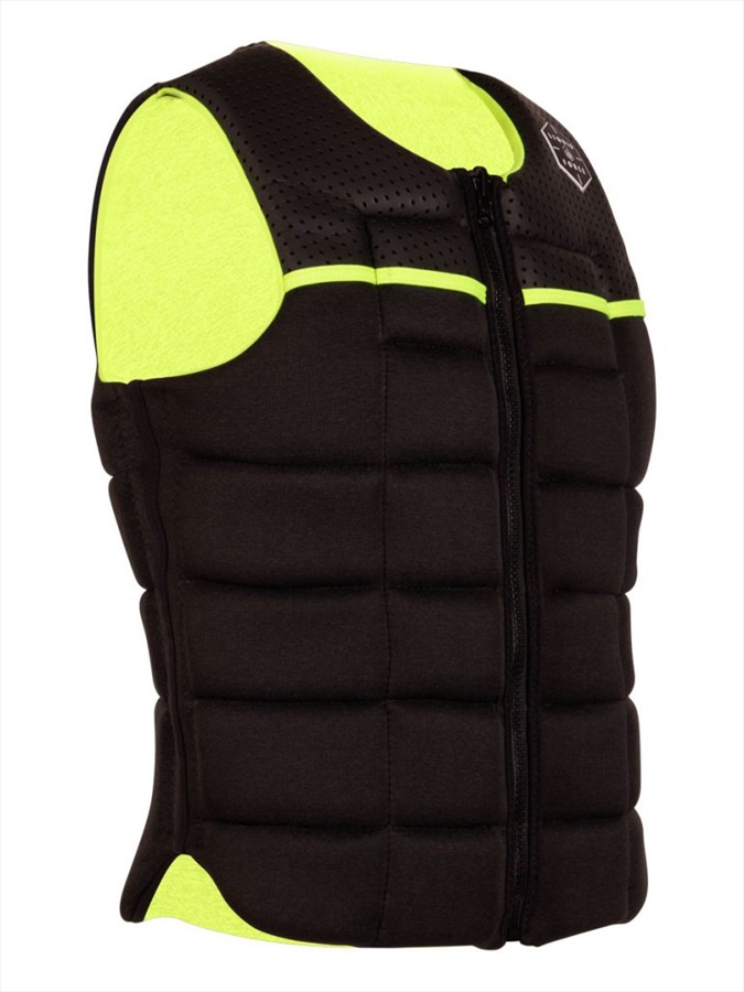 Liquid Force Flex Wakeboard Impact Vest, 2XL Black Yellow 2021