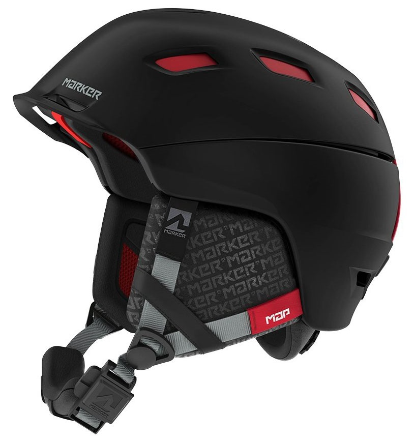 Marker Ampire Ski/Snowboard Helmet S Map Black