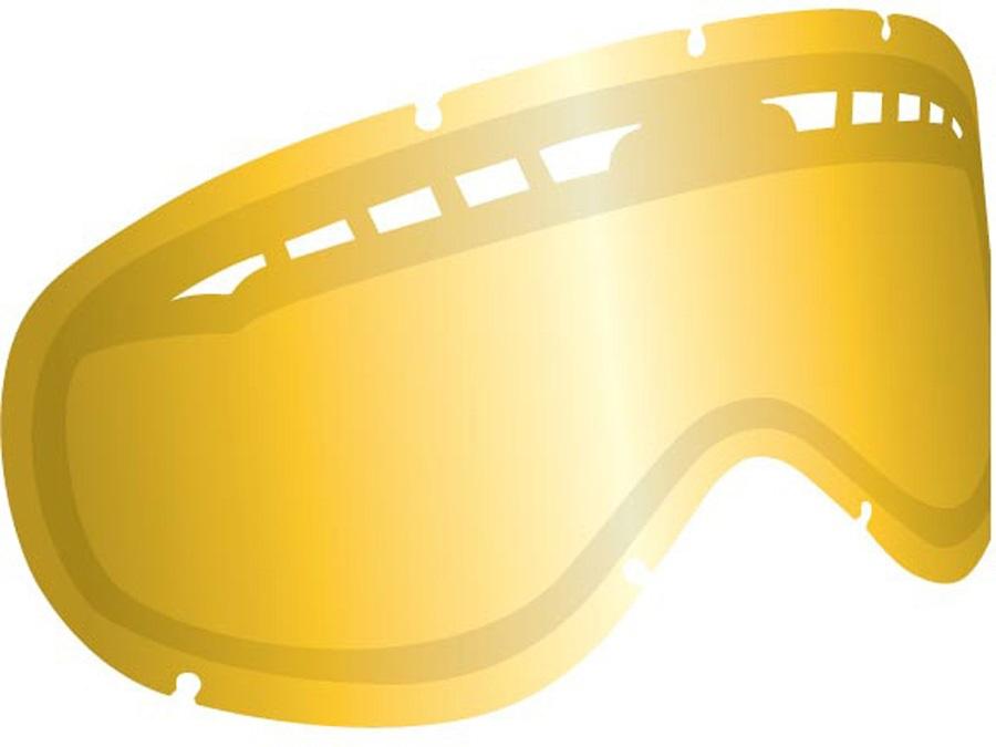 Dragon DX2 Snowboard/Ski Goggle Spare Lens, Smoke Gold Ionized