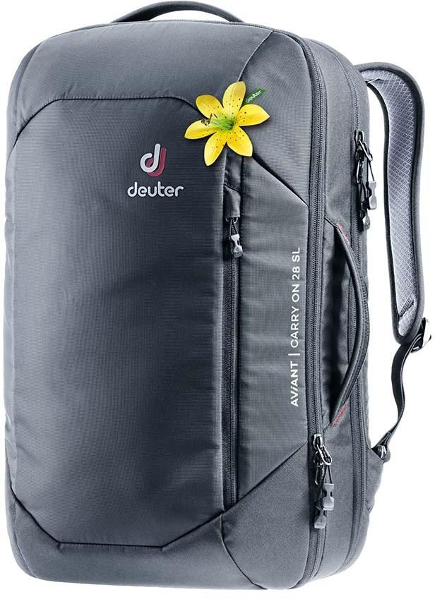 Deuter Aviant Carry On 28 SL Travel Backpack, 28L Black
