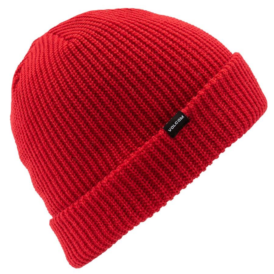 Volcom Sweep Snowboard/Ski Beanie, OS Red