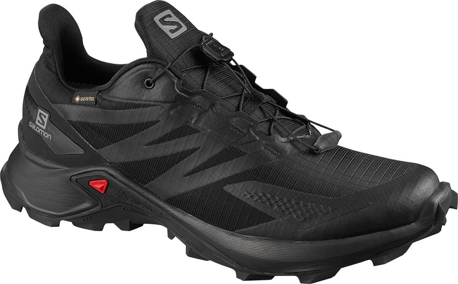Salomon Supercross Blast GTX Men's Trail Running Shoe, UK 9.5 Black