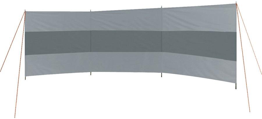 Bo-Camp Windbreak Caira 3 Panel Camping Windscreen, 500 x 140cm