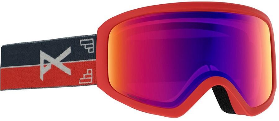 Anon Insight Sonar IR Blue Women's Ski/Snowboard Goggles, S/M Horizon