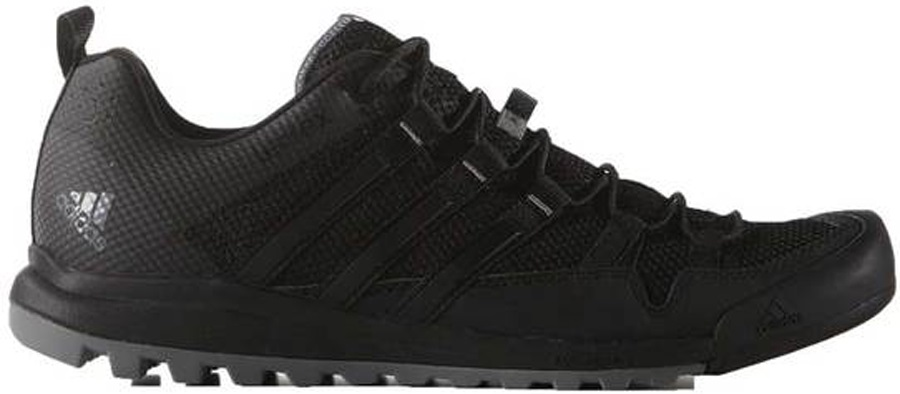 Adidas Terrex Solo Approach/Walking Shoes, UK 7 Dark Grey Charcoal