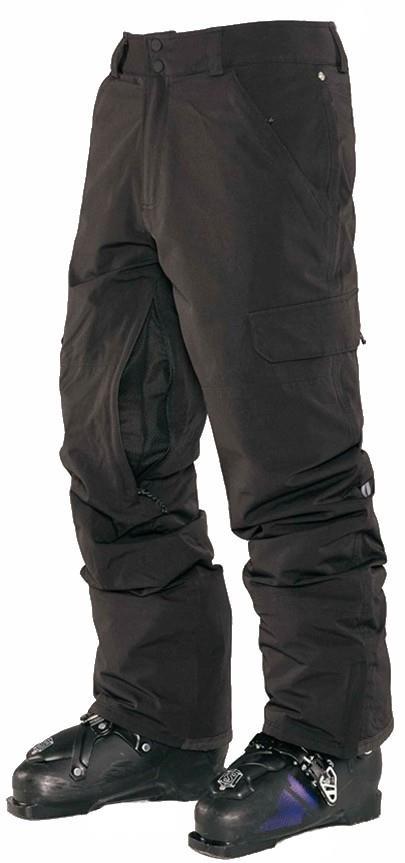 Armada Union Insulated Ski/Snowboard Pants, S Black