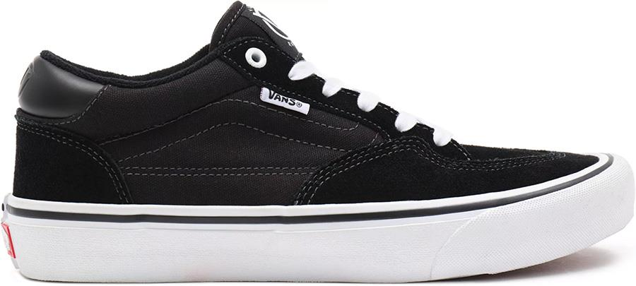 Vans Rowan Pro Skate Trainers/Shoes, UK 10 Black/White