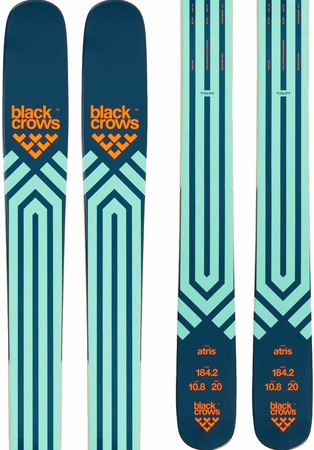 Black Crows Atris Skis 189cm, Blue/Orange, Ski Only, 2022