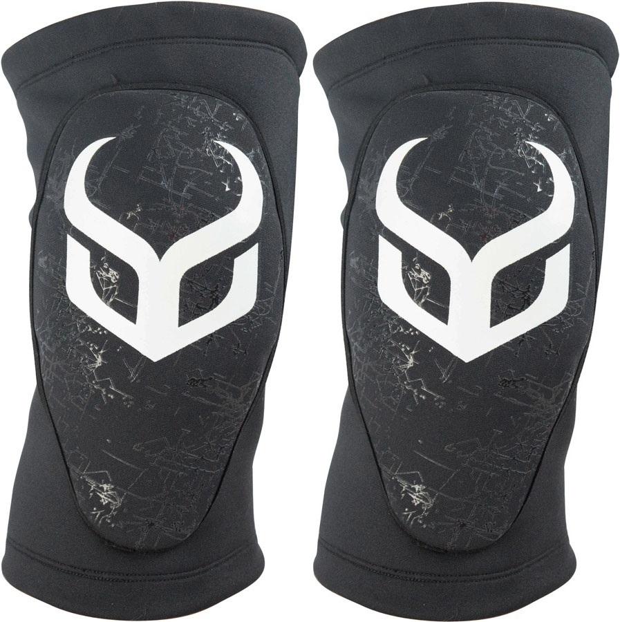 Demon Soft Cap Pro Ski/Snowboard Knee Guard Pads, L Black