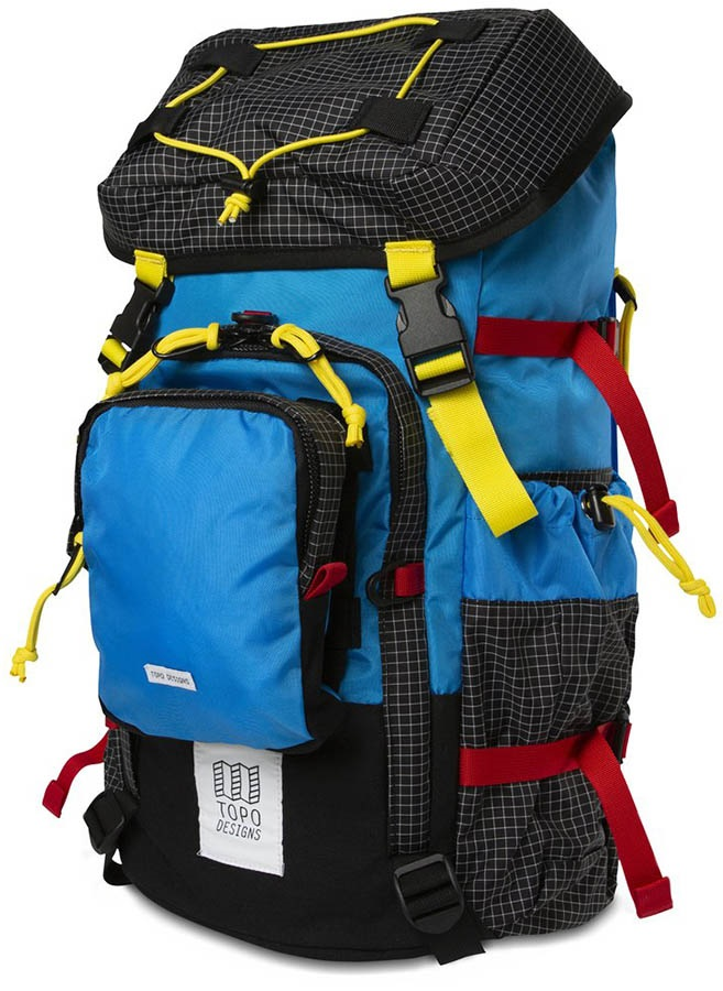 Topo Designs Subalpine Pack Hiking Backpack, 35L Blue