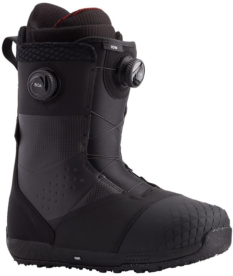 Burton Ion Boa Men's Snowboard Boots, UK 9 Black 2021