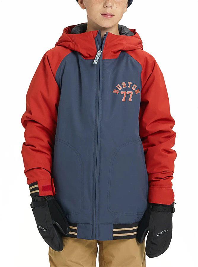 Burton Gameday Boy's Snowboard/Ski Jacket, 10-12 Years Mood Indigo