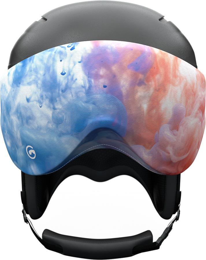 Gogglesoc Snowboard/Ski Visor Lens Cover, Ink Visorsoc