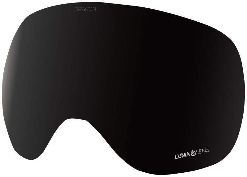 Dragon X1 Snowboard/Ski Goggle Spare Lens OS LumaLens Midnight