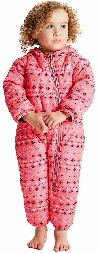 Dare 2b Bambino II Kid's Snowboard/Ski Snow Suit, Age 0-6M Pink