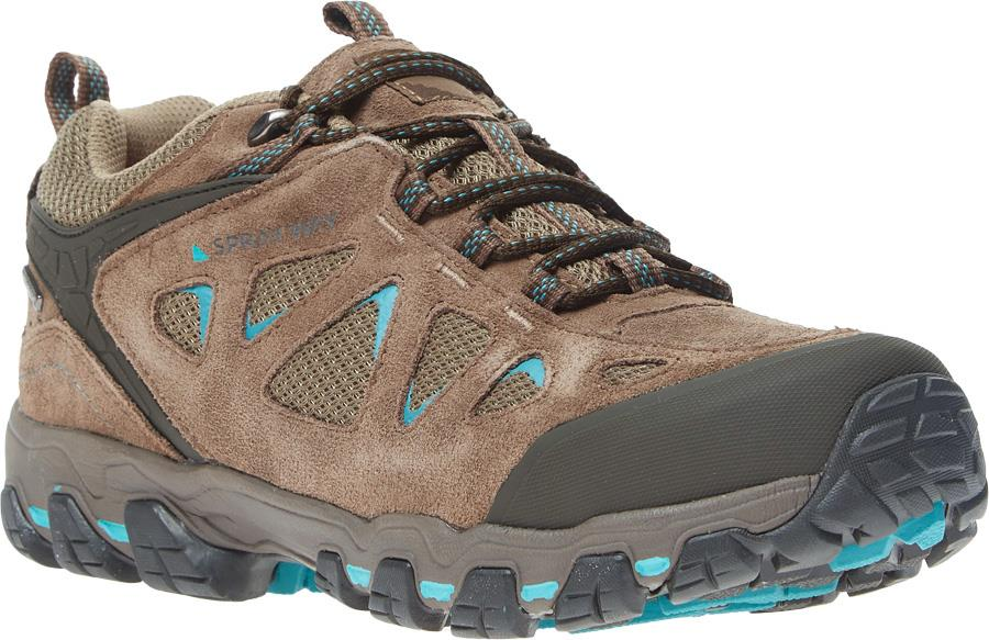 Sprayway Iona Low HydroDry Women's Approach Shoes, UK 5 Brown