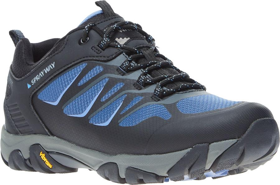 Sprayway Fara Low HydroDry Women's Approach Shoes, UK 4 Blue