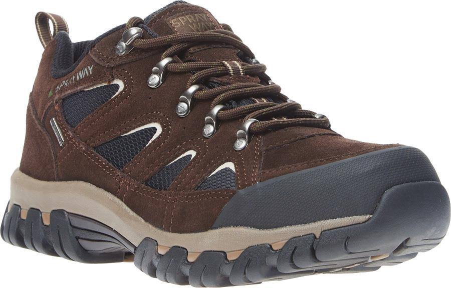 Sprayway Mull Low HydroDry Approach Shoes, UK 7 Brown